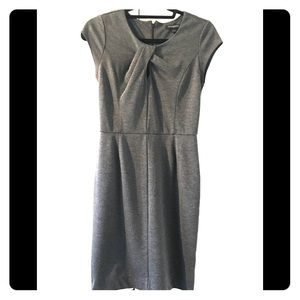 Banana Republic grey size 0 shift dress